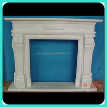 Stone Italian Fireplace Mantel