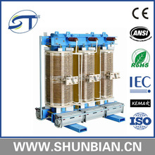 designed as the requirement of customer of 3 phase step down 10.5kv/0.4 kv SG series dry type high voltage transformer
