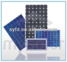 HIGH EFFICIENCY 190W solar panel using mono solar cell for solar street lighting with TUV IEC CE RoHS