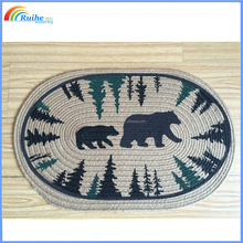 hot chinese cheap rag rugs in bulk for sale