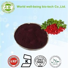 Antioxidant Products Cranberry Extract 5%, 15%, 25%, 30%, 50% Proanthocyanidins/Anthocyanins Cranberry Juice Powder
