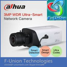Newest ip camera with sim card for face detection 3MP WDR Ultra Defog face recognition ip box camera DAHUA IP Camera