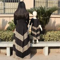 Hot sale long sleeve muslim women dress clothes for women