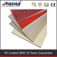 Alusign attactive acp cover plastic bagasse wall panel