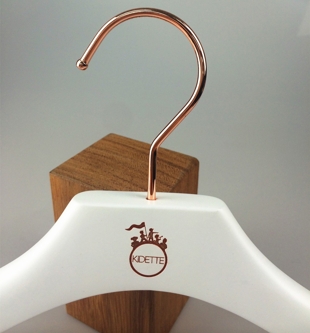 White Wooden Hanger Children Clothes Hanger For Kids - Buy White ...