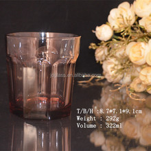 Best Seller Machine pressed Color Shot Drinking Fancy Glassware