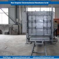 2015 Professional 2 ton cheap mini electric bogie hearth furnace