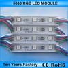 High lumen waterproof pixel dc-12v rgb led module light