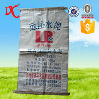 cement industrial use pp woven ad star bag with cheap price