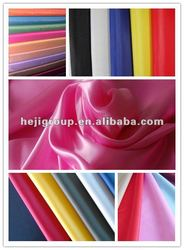 Taffeta or Oxford fabric with a PU or DWR or silicone coating