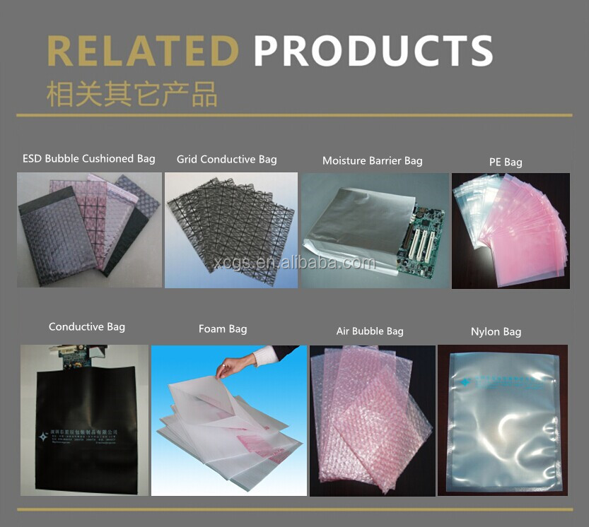 ESD Antistatic Shielding Bags