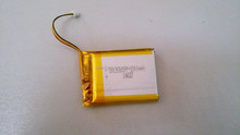 Factory Price Small Lithium Polymer Battery 3.7V 2000mah For GPS MP3 MP4 Player Video Games