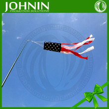 wholesale promotion american flag windsock