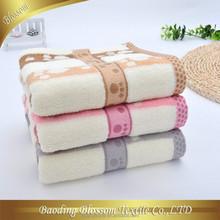 wholesale super cheap 100% cotton fabric plain dyed soft size face towel