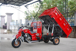 2015 250cc tricycle water cooling Hydraulic dumping tricycle