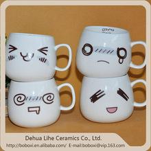 2015 good quality new animal head ceramic mugs