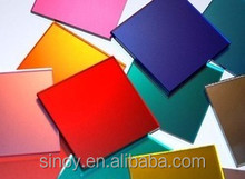 various color back painted glass for hom decoration in customer size