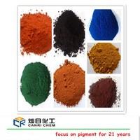 Factory sell asphalt bitume pigment orange iron oxide and red yellow black pigments for ceramic glaze/concrete