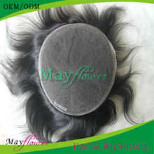 All Hand Tied Full Lace Top Pieces For Men and Women/Hair toupees/Hair replacement