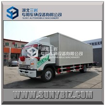 JAC 4X2 10T medium size van truck for hot sale in china