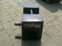 OIML load test weight test weight for crane scale calibration weights