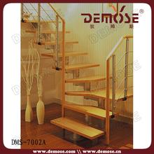 baranda madera para escaleras de casa moderna