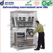 supermarket stackable storage crates