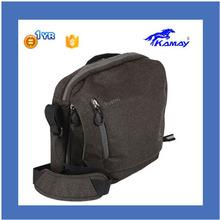 2014 high quality camera bag with leather trim cheap cute camera bag