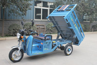 Gasoline Electric Hybrid Tricycle / Hybrid Cargo Motorcycle / Dumper Tricycle