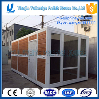 YULI prefabricated house / folding container house / flat pack container hosue