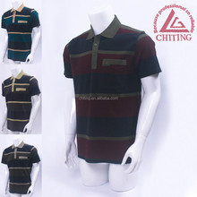 man shirt polo tee high quality with patch pocket wholesale custom 38304