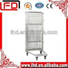 4-Side Folding Steel Storage Laundry container