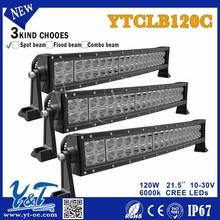 Y&T Flexible 21.5inch 120w double led light bar Spot Flood work driving Atv bar
