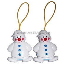 EN STOCK wireless snowman lovely baby cry sound detector, sleeping guarder, crying alarm customized