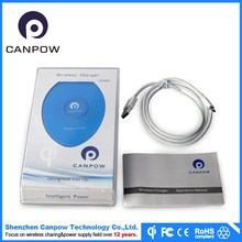 Support USB cable qi wireless charging coil for Samsung Galaxy S6 Active