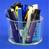 Large round shape acrylic pen display rack manufacturer