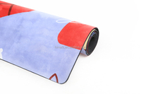 5mm Natural Rubber Yoga Mat Material Rolls Yoga Mat Material Custom Print Eco Yoga Mats