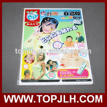 Good quality TopJLH New material body art temporary tattoo thermal transfer paper