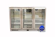 338L Stainless Steel Fan Cooling Back Bar Cooler