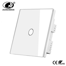 ABS switch cover 5mm glass panel UK touch switch