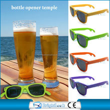 Beer bottle opener sunglasses for promotion party ,funny custom sunglasses with UV 400