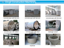 Hot!high quality cement pipe mould machine of drain pipe making machine