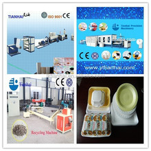 Foam food container fully automatic machine with good quality