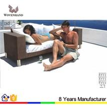 waterproof outdoor furniture wicker sofa