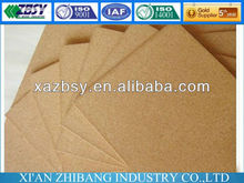 natural cork sheet material for bulletin board QBCST02