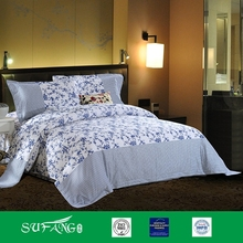 wholesale Blue and white printing bedding