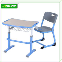 Cheap kindergarten table and chair set in wood