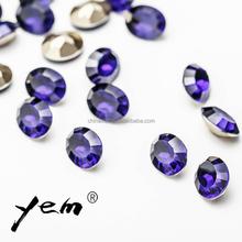 Purple Velvet Color 7*9 Water Drop for Hot Fix Rhinestone Sheet