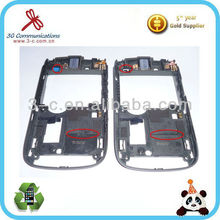 New plastic cover for Blackberry Torch 9800 middle cover for blackberry BB 9800 middle housing cover