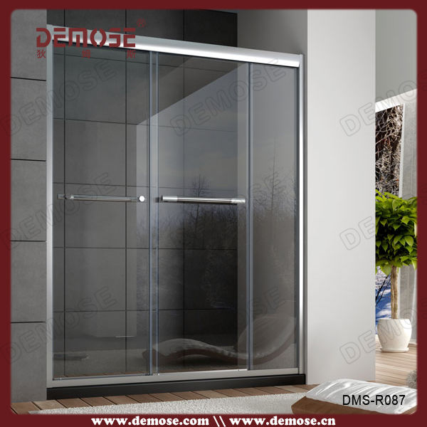 Australian rollaway shower screen frame double shower for 1800mm high shower door